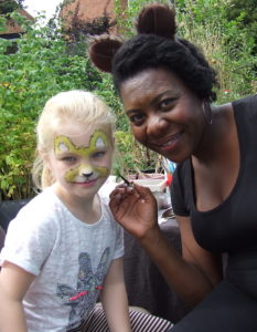Face Painting - Velvet Community Orchard in Witton Lakes