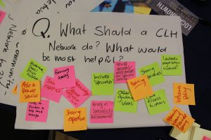 Towards a Network: What a CLH network should do